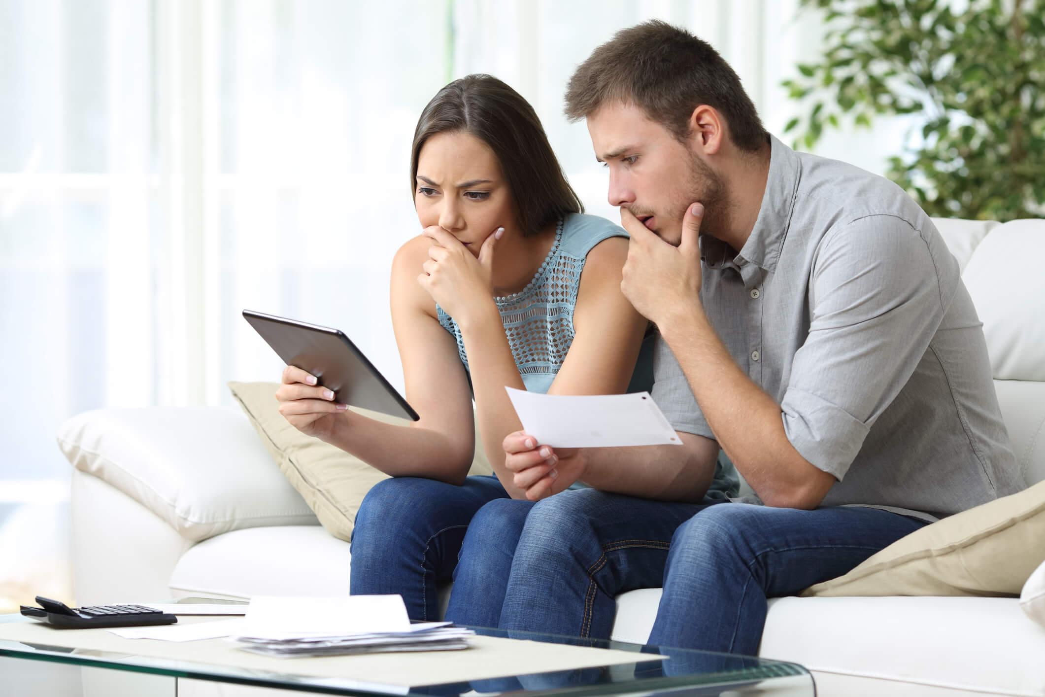 avoid having mortgage application denied
